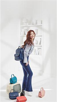 Kpop Girl School Spring iPhone 8 wallpaper