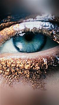 Eye Face Illustration Art Fashion iPhone 8 wallpaper