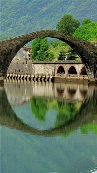 Italy Bridge  iPhone 8 wallpaper