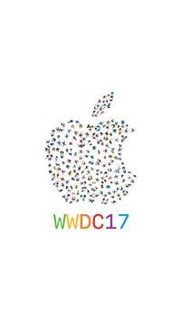 WWDC 2017 Apple Logo Pattern iPhone 8 wallpaper