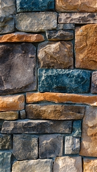 Decorative Stone Cladding iPhone 8 wallpaper