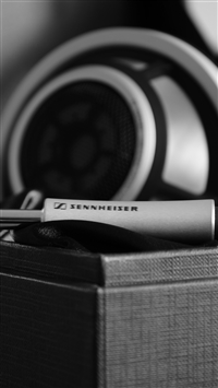 Sennheiser Headphones Wire Bw iPhone 8 wallpaper