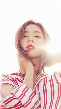 Asian Girl Sunshine Beauty iPhone 8 wallpaper