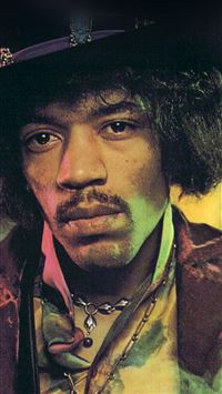 Jimi Hendrix Face Music Regae Artist iPhone 8 wallpaper