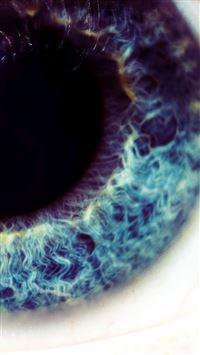 Macro Blue Eye  iPhone 8 wallpaper