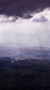 Sky Cloud Landscape Nature iPhone 8 wallpaper