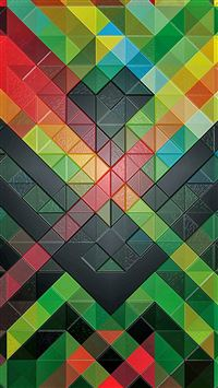 Colorful Diamonds Pattern iPhone 8 wallpaper