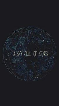 A Sky Full Of Stars iPhone 6(s)~8(s) wallpaper