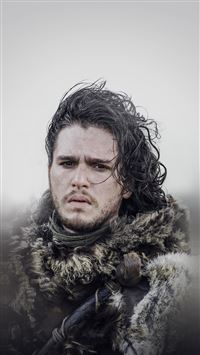Jon Snow Game Of Thrones Film Art iPhone 8 wallpaper