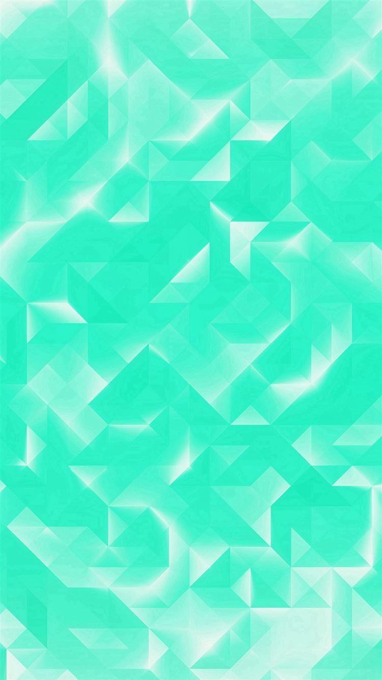 Green Polygon White Pattern iPhone 8 wallpaper