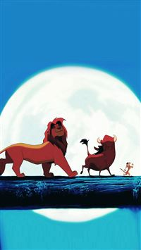 Hakuna Matata Disney Lionking Illust Art iPhone 8 wallpaper
