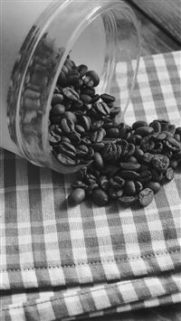 Coffee Art Life Nature Living Drip Dark Bw iPhone 8 wallpaper