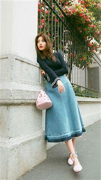 Nana Kpop Girl Spring iPhone 8 wallpaper