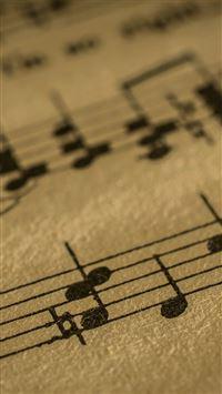 Music Note Art Pattern iPhone 8 wallpaper