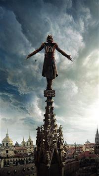 Assasins Creed Film Poster Illustration Art Hero iPhone wallpaper
