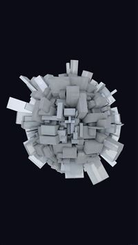 Abstract Earth Digital Illust Art iPhone 8 wallpaper