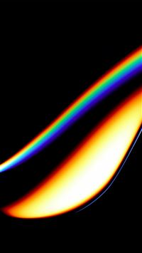 Lens Dark Color Rainbow Art Illustration Minimal iPhone 8 wallpaper
