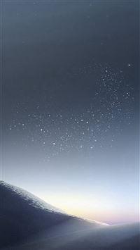 Galaxy Night Sky Star Art Illustration iPhone 8 wallpaper