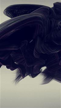 Pattern Digital Abstract Illustration Art iPhone 8 wallpaper