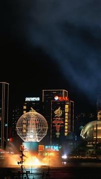 Tokyo night iPhone 8 wallpaper