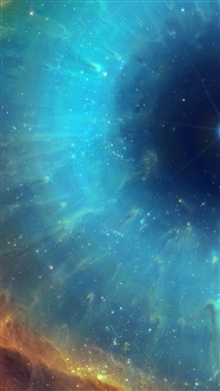 Space nebula star energy iPhone 8 wallpaper
