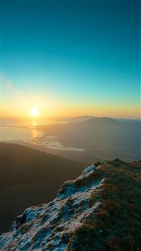 Sunset iPhone 8 wallpaper