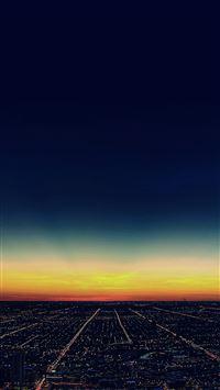 City night iPhone 8 wallpaper