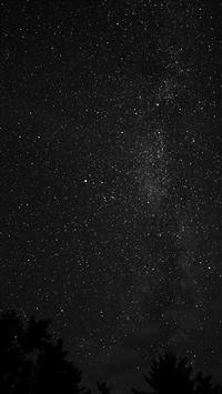Night sky iPhone 8 wallpaper