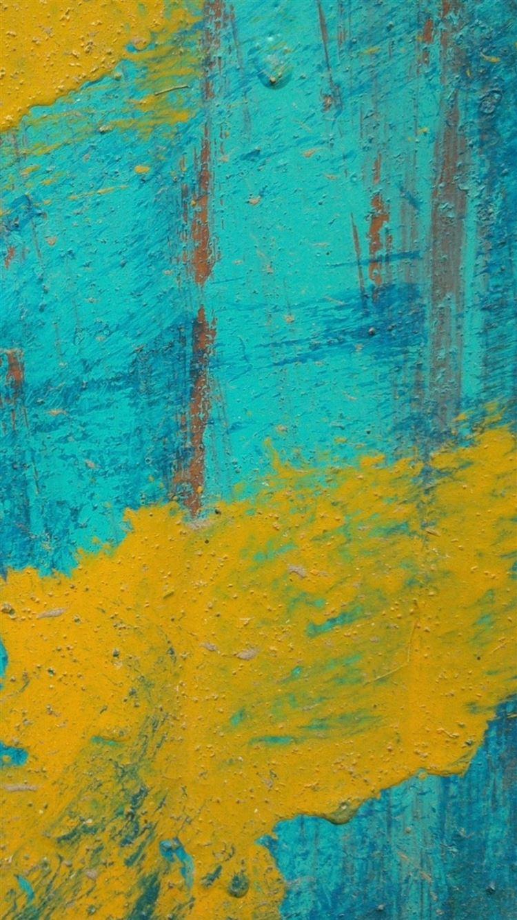 Paint stripes spots texture iPhone 8 wallpaper