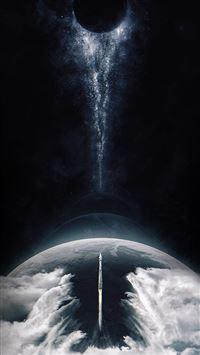 Space inster stellar art iPhone 8 wallpaper