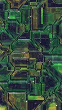 Electric mother board pattern background iPhone 8 wallpaper