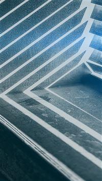 Dark shadow window blue interior iPhone 8 wallpaper