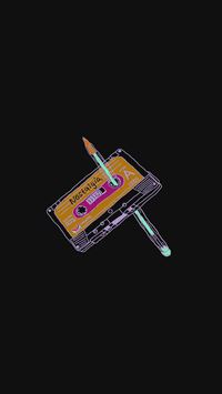 Cassette tape old iPhone 8 wallpaper