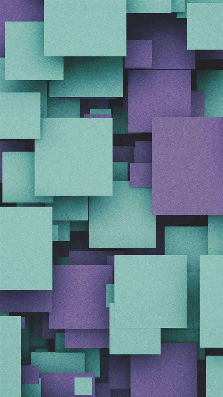 Square party purple pattern iPhone 8 wallpaper
