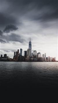 344 2 New York Skyscrapers IPhone 8 Wallpaper