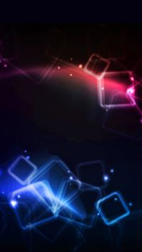Red blue dark pattern light iPhone 8 wallpaper