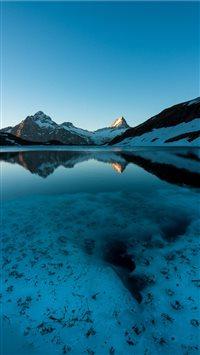 Bachalpsee--Grindelwald--Switzerland iPhone 8 wallpaper
