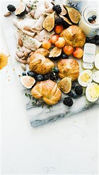 Summer Breakfast Platter iPhone 6(s)~8(s) wallpaper