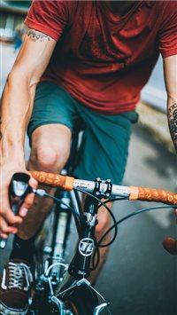 Summer Biking iPhone 6(s)~8(s) wallpaper