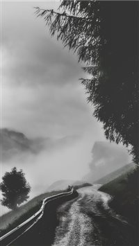 Dark and rainy iPhone 6(s)~8(s) wallpaper
