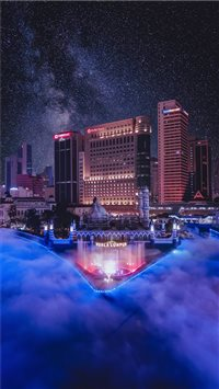 The River of Live  Kuala Lumpur iPhone 6(s)~8(s) wallpaper