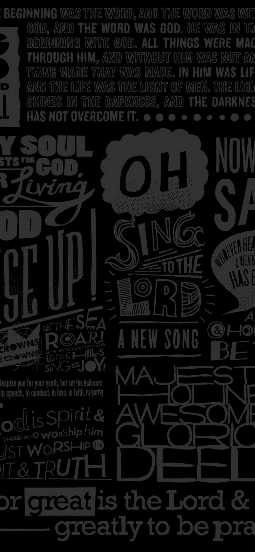 Scripture IPhone Se Wallpaper