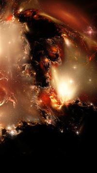 Kari Nebula iPhone se wallpaper