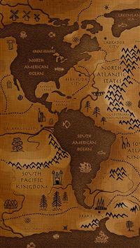 World Map iPhone se wallpaper