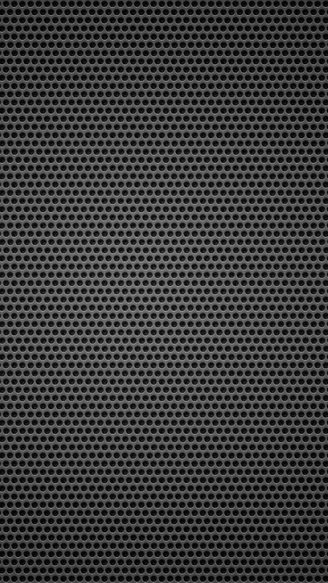 Black Background Metal Hole Small IPhone Se Wallpaper