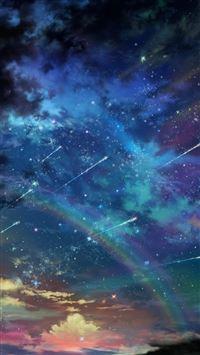 Colorful Space Landscape iPhone 5(s/c)~se wallpaper