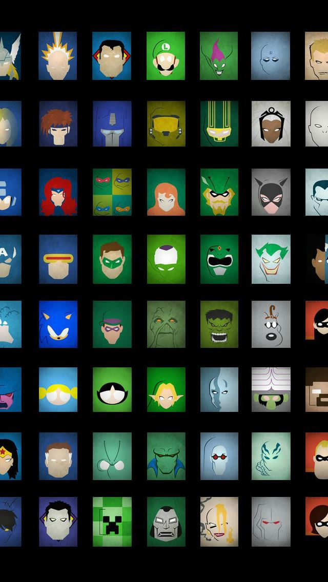 Superheroes IPhone Se Wallpaper