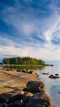 Island iPhone se wallpaper