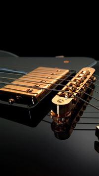 Guitar Strings iPhone 5(s/c)~se wallpaper