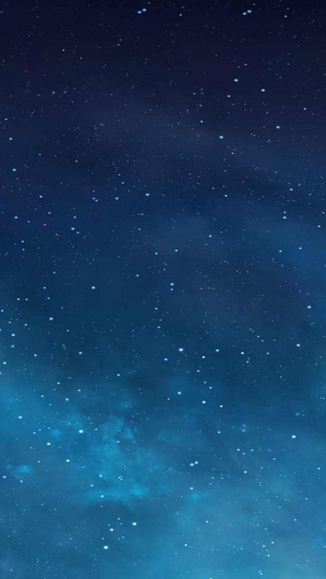 Ios 7 Galaxy IPhone Se Wallpaper